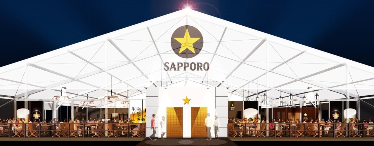 画像1: 大人のビヤガーデンが大阪に再び登場!サッポロ生ビール黒ラベル「THE PERFECT BEER GARDEN 2016 OSAKA」
