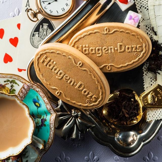 画像: ダージリンの茶葉のみを使用!クリスピーサンド『ロイヤルミルクティー』 発売中!