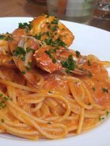画像: 「渡り蟹とトマトクリーム」