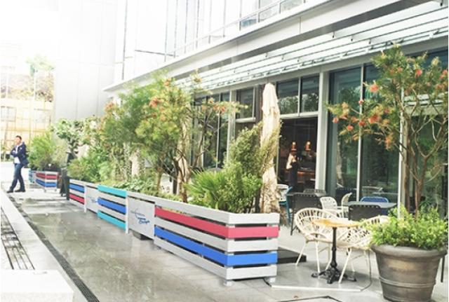 画像3: 新施設「東京ガーデンテラス紀尾井町」に夏限定で登場「CHANDON SUMMER ESCAPE TERRACE」
