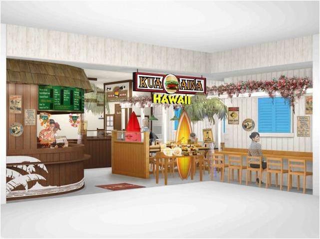 画像: 東北エリア初上陸!!ハワイ生まれのグルメバーガー店「クア・アイナ 仙台パルコ2店」オープン!