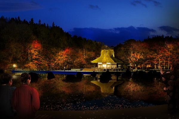 画像: 提灯を携えて、幻想的にライトアップされた公園を散歩する新アクティビティ『夜のきろかろ散歩』