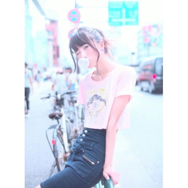 画像4: スタイルアップも叶えてくれる女の子度100%のTシャツ