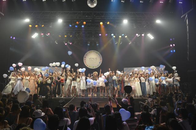 画像: 【開催レポート】 人気雑誌モデルたちによる ファッションショーとレッドリボンチャリティーも実施 「VENUS SUMMER FES 2016」