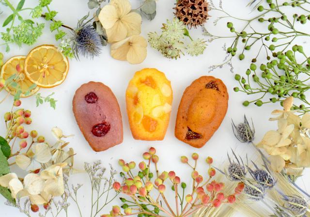 画像1: マドレーヌ専門店「MADELEINE LAPIN」 無添加で自然の味を生かした 秋の季節限定フレーバー4種新発売!
