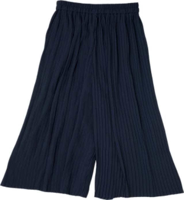 画像: ■プリーツスカーチョ カラー:ネイビー・フォレストグリーン サイズ:M・L 価格:1,900円
