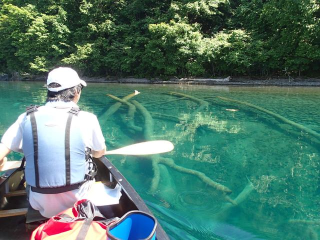 画像3: 水深260mの湖の上で朝のティータイムが楽しもう!