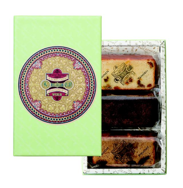 画像2: デメルの個性豊かな新作ケーキ3種の詰合せ 『ヴィーナークーヘン』