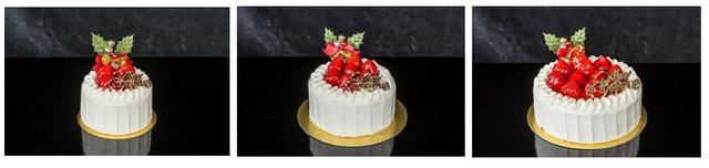 画像: ストロベリーショートケーキ 各9cm 3,500円 /12cm 4,700円/ 15cm 6,000円 ふわふわのジェノワーズ(スポンジ)にカスタードと生クリーム、苺をたっぷりと重ねた軽い食感のショートケーキ。ザ・リッツ・カールトン東京のペストリーチームが厳選したショートケーキにぴったりの苺がふんだんに使われています。様々なシチュエーションでお楽しみ頂けるよう9cm、12cm、15cmの3サイズをご用意いたしました。