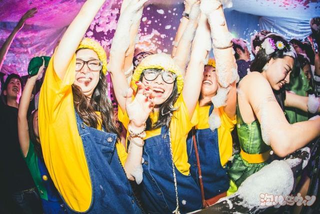 画像2: シブヤ最狂のハロウィンパーティー「泡ハロウィン」が同日2連続開催!