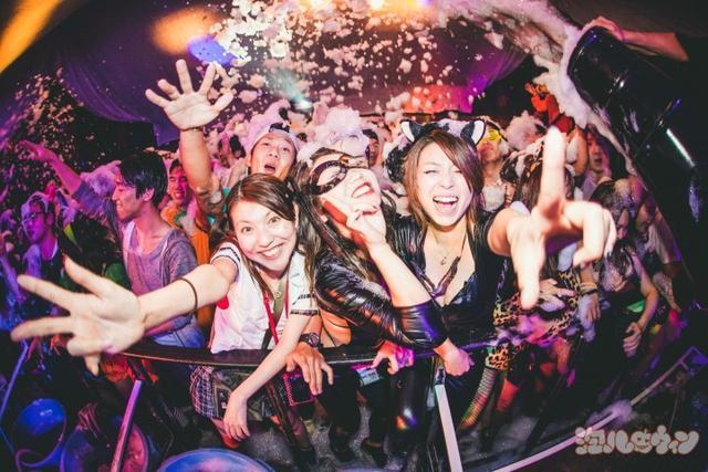 画像1: シブヤ最狂のハロウィンパーティー「泡ハロウィン」が同日2連続開催!