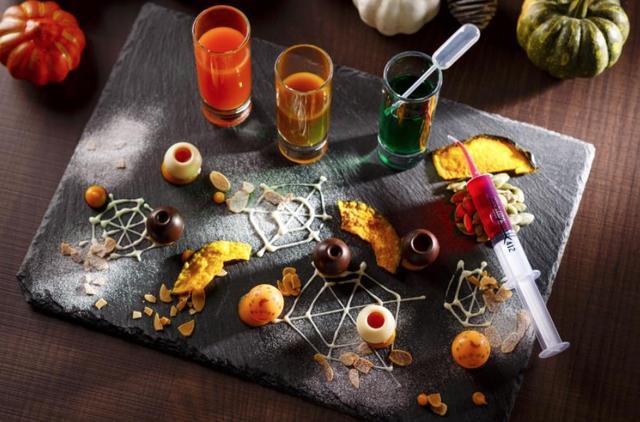 画像1: まるで秘密の実験?! 飲んで食べて作って楽しめる大人のカクテルが登場!
