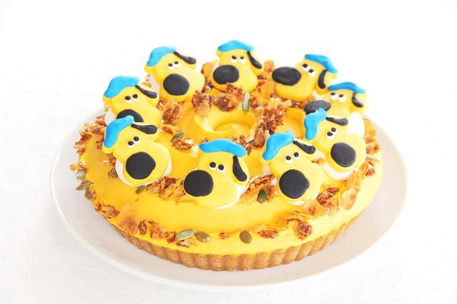 画像: ビッツァーのタルト カボチャとさつまいものタルトにビッツァーのクッキー 単品:650円 ドリンク付:1,050円