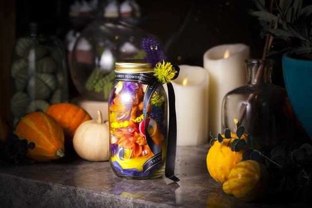 画像2: ハロウィンを彩るフラワーアレンジメント作りとスィーツブッフェ