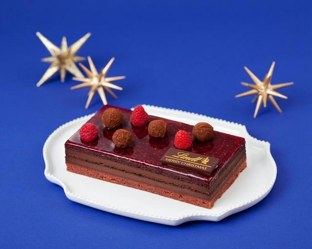 画像2: リンツのクリスマス用濃厚ショコラケーキが11月2日に予約開始!