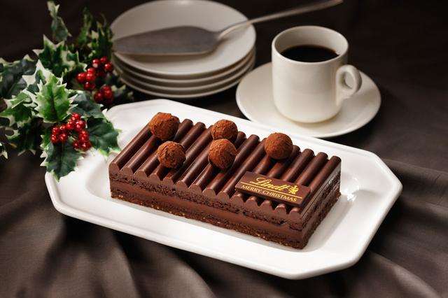 画像3: リンツのクリスマス用濃厚ショコラケーキが11月2日に予約開始!