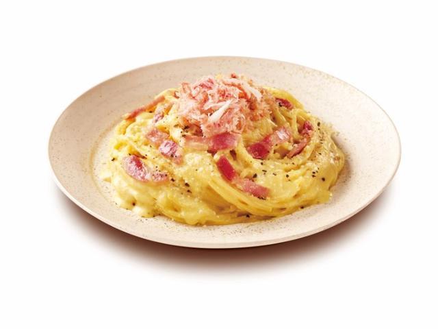 画像: 紅ズワイガニの豆乳カルボナーラ 780円(税込)