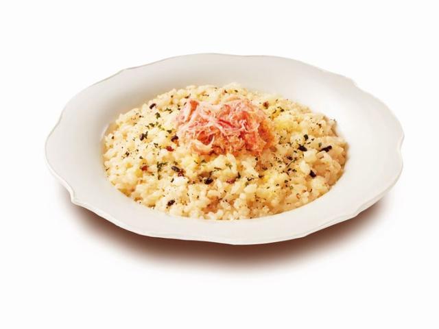 画像: 紅ズワイガニの豆乳クリームリゾット~キヌア・大麦・赤米・黒米入り~ 780円(税込)