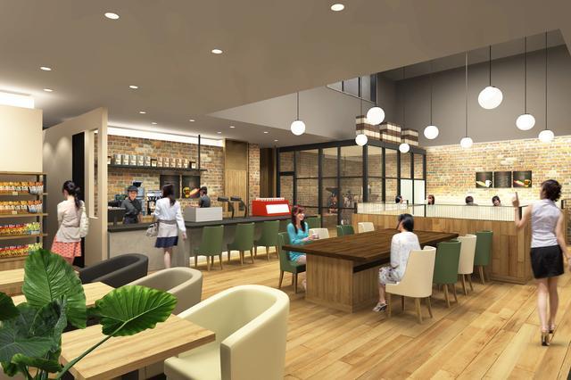 """画像2: タリーズコーヒー初""""フルサービス""""の店舗がオープン!"""
