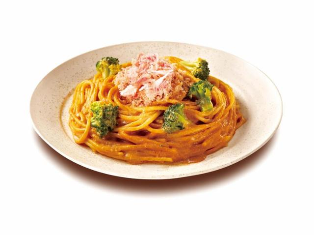 画像: 紅ズワイガニの豆乳オマールソース 730円(税込)