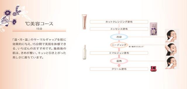 画像: <ワタシプラス>ベネフィーク エステ BM ℃美容コース www.shiseido.co.jp