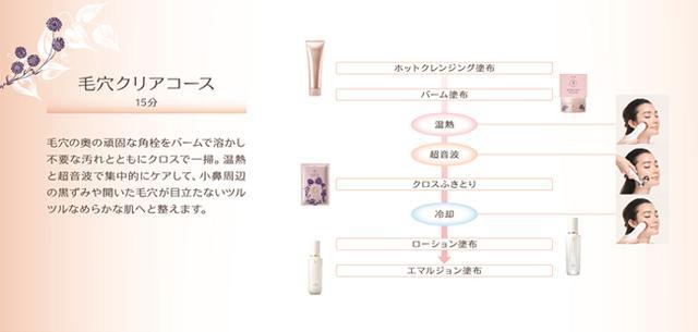 画像: <ワタシプラス>ベネフィーク エステ BM 毛穴クリアコース www.shiseido.co.jp