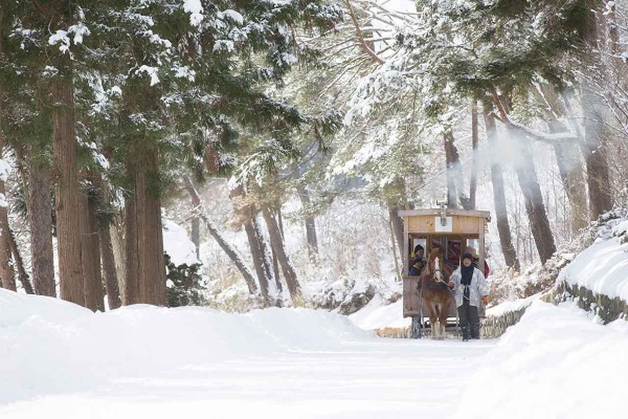 画像1: 雪ん子をイメージした冷たいおやつ「雪ん子アイス」新登場