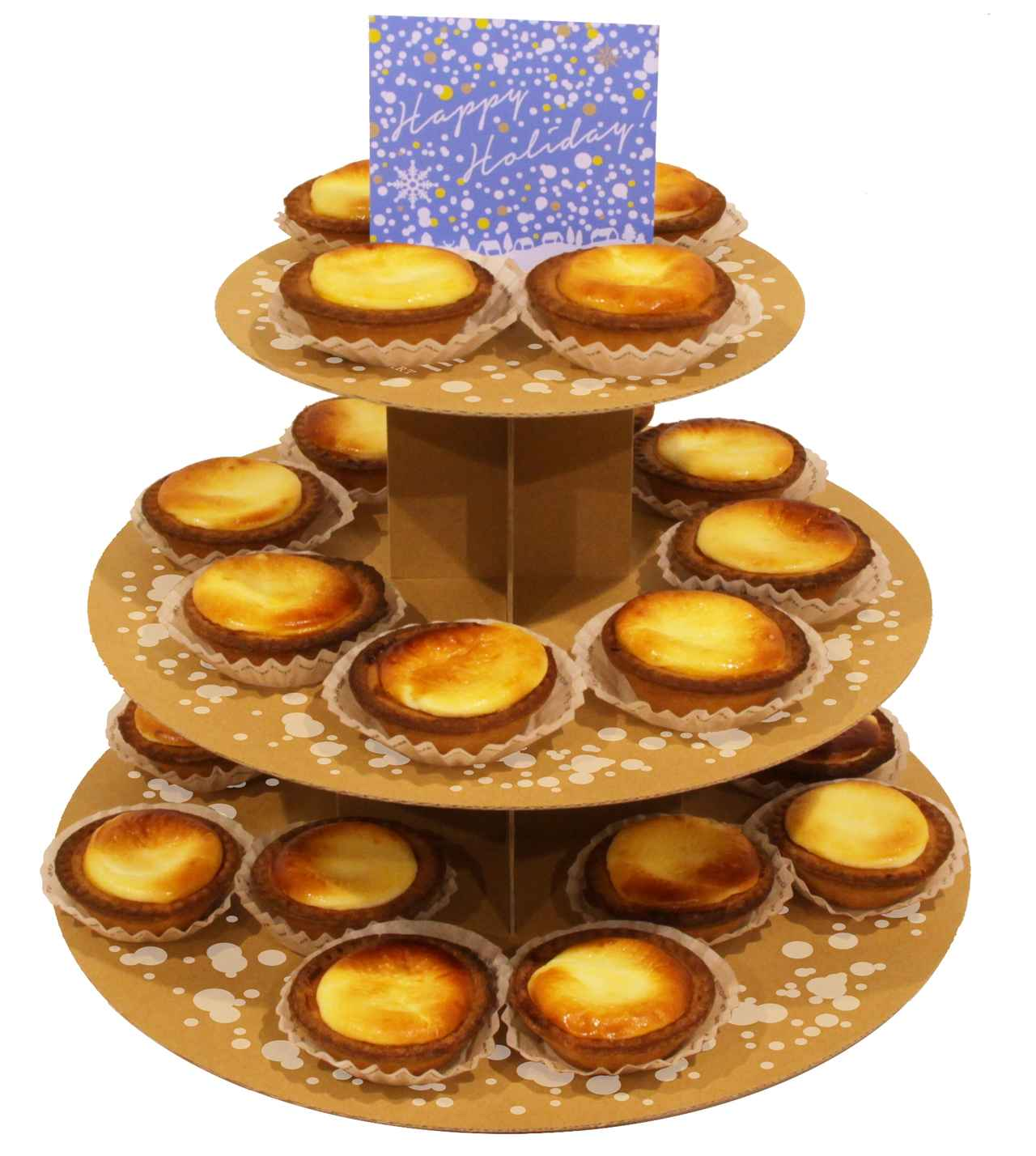 画像3: クリスマスや忘年会などのパーティーシーズンを盛り上げる『チーズタルトデコレーションタワー』