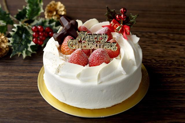 画像: 「クリスマスケーキ」(15cm丸型・5号) 3,800円