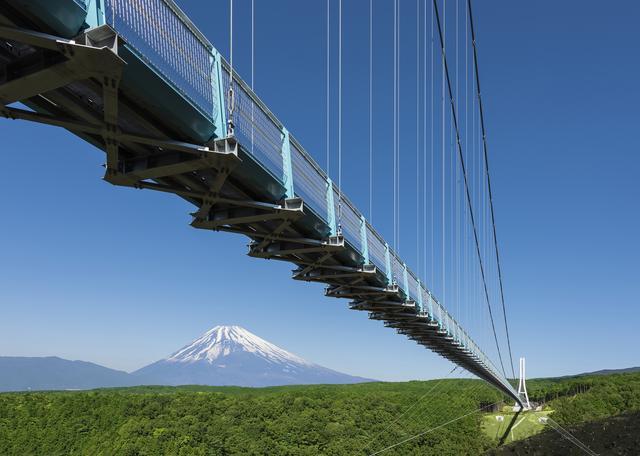 画像: 全長400m、日本一の吊り橋