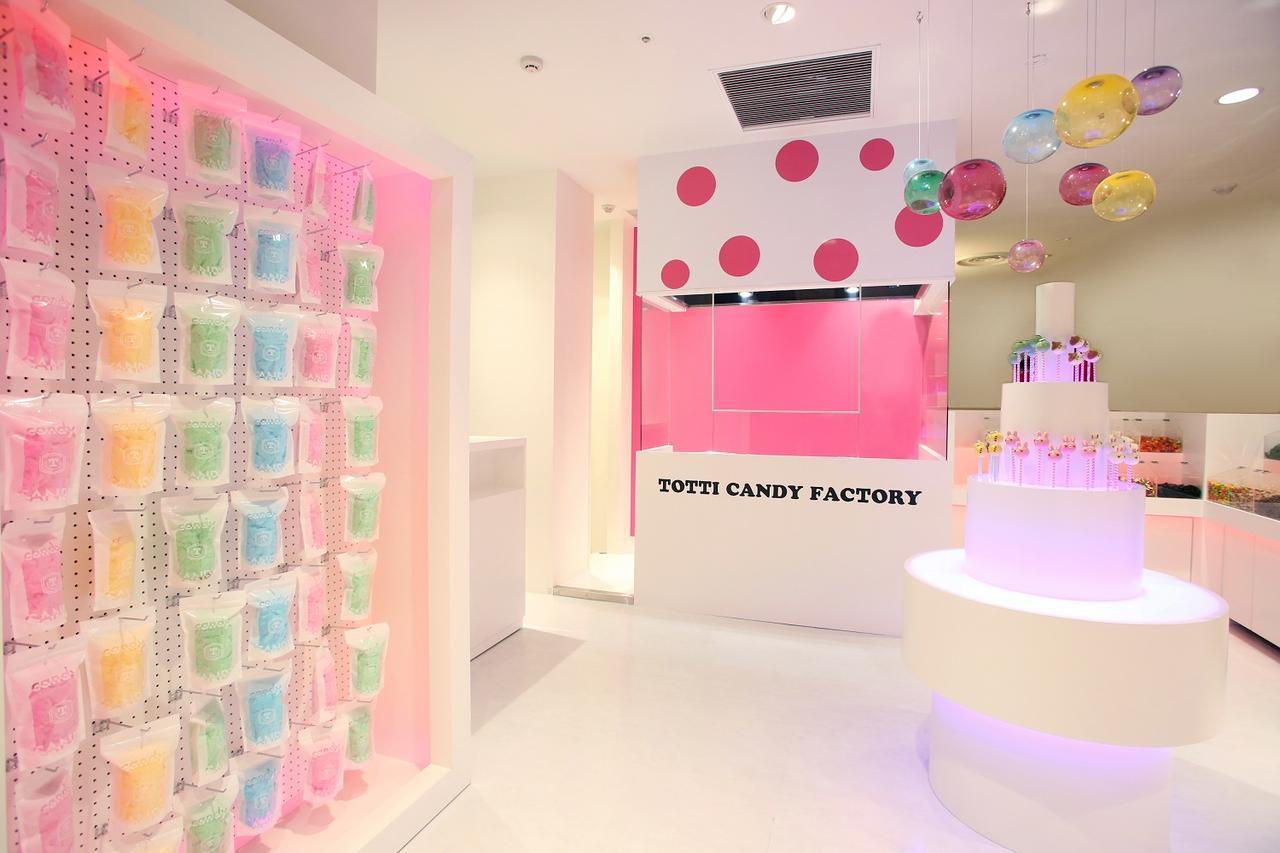 """画像2: 原宿""""巨大わたがし""""の「Totti Candy Factory Shop」が名古屋にオープン!"""