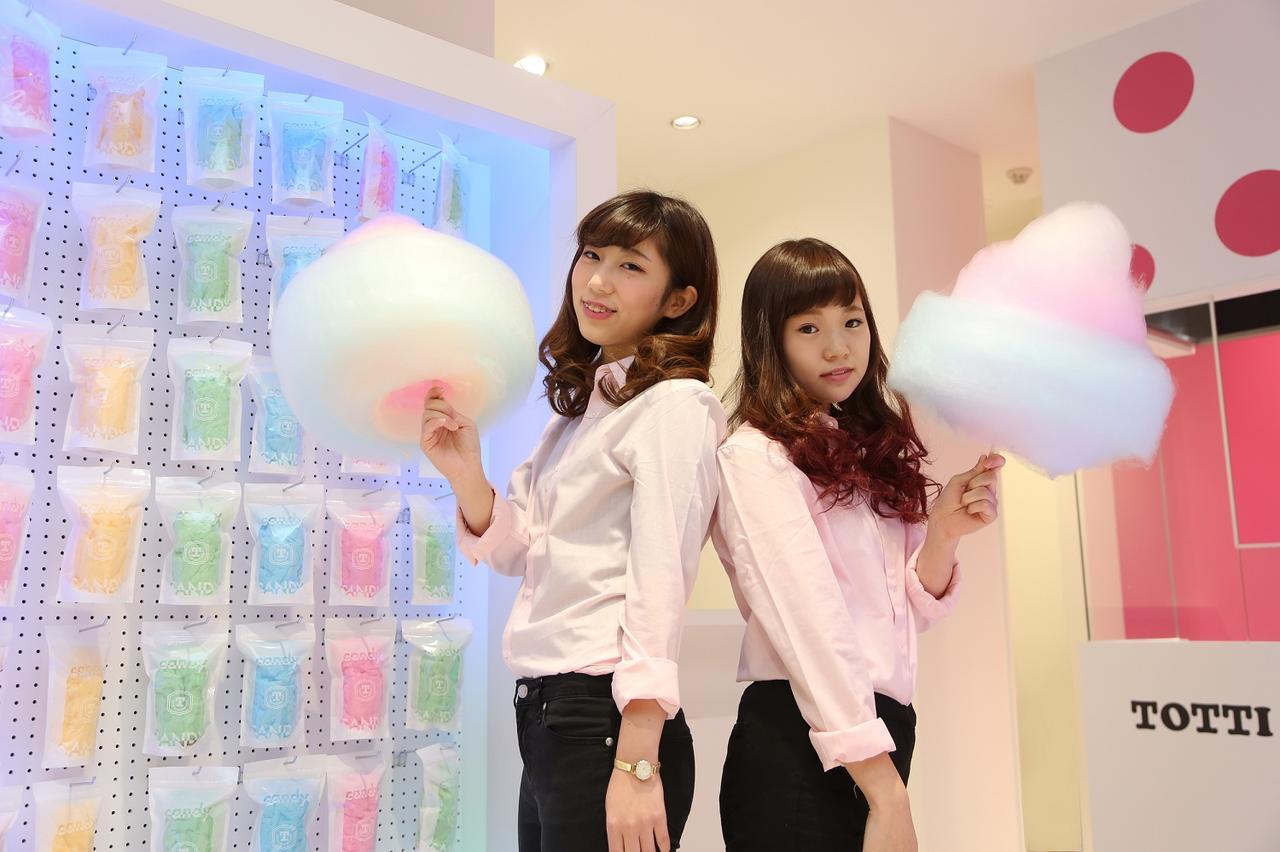 """画像1: 原宿""""巨大わたがし""""の「Totti Candy Factory Shop」が名古屋にオープン!"""