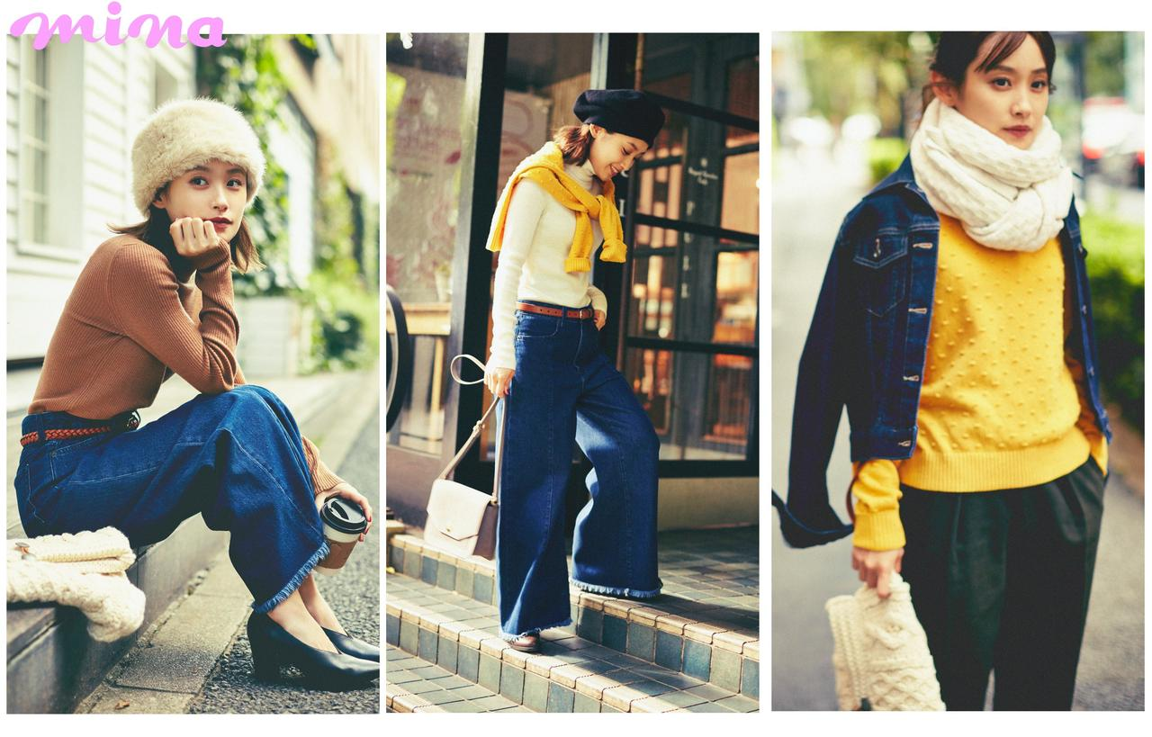 画像2: 冬のおしゃれはコスパ服で乗り切れる? 高橋愛がUNIQLO&GUで31日DAYS真冬の着回しに挑戦!