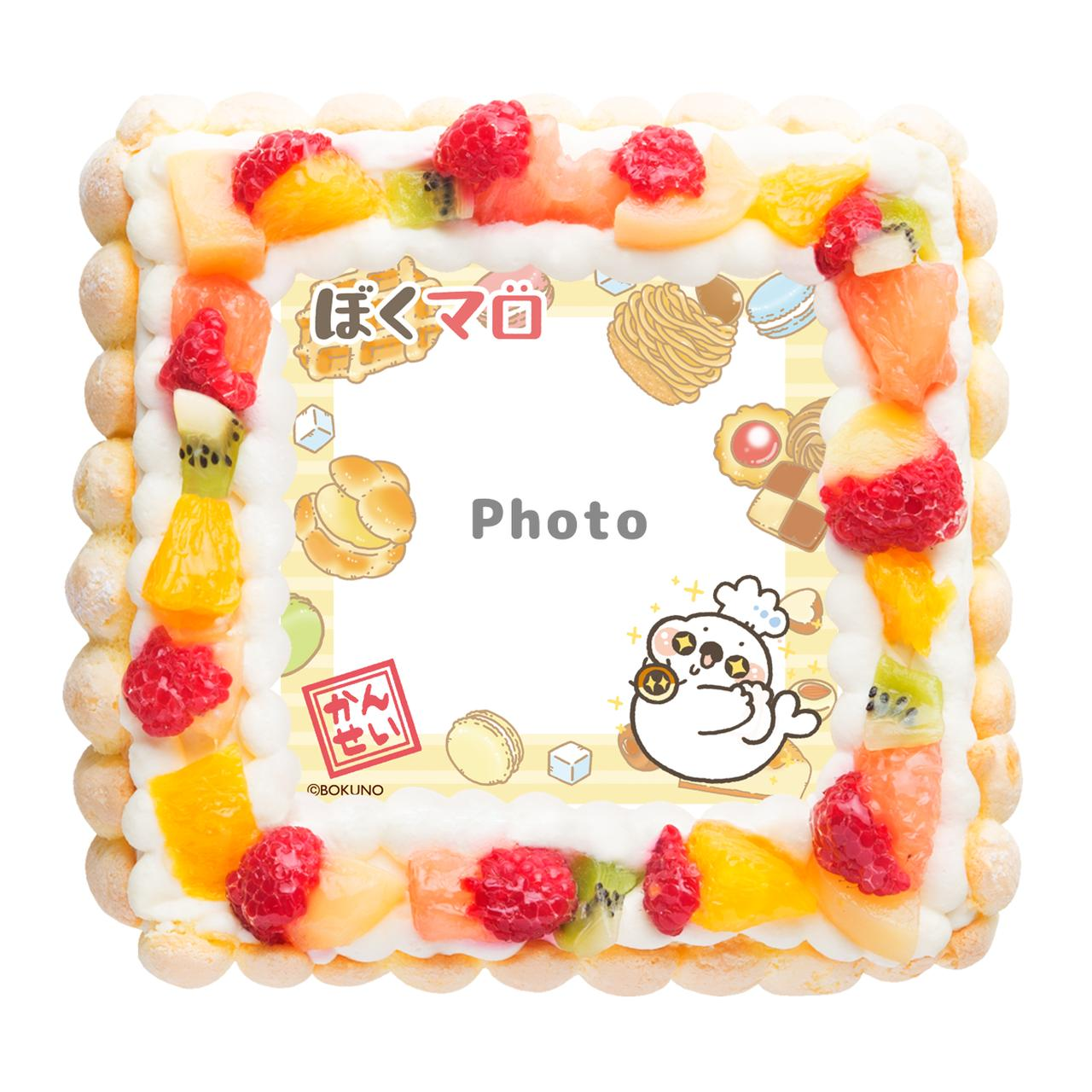 画像4: マシュマロアザラシ「マロくん」がケーキに!
