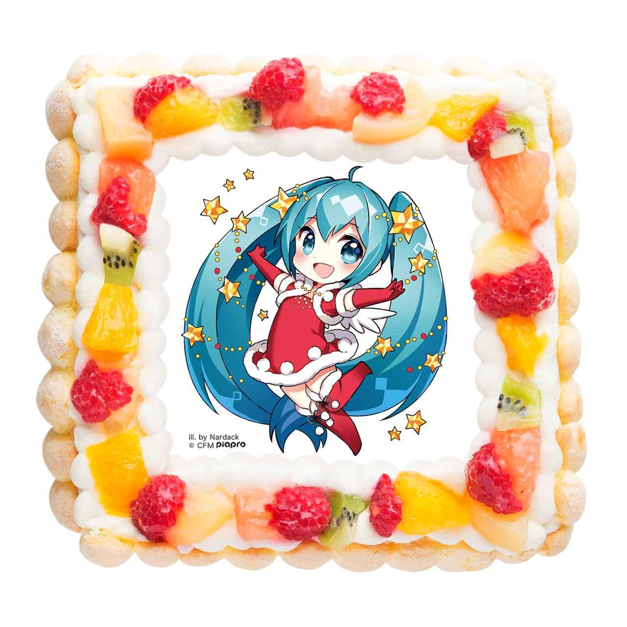 画像2: 「初音ミク」のクリスマスデザインケーキ
