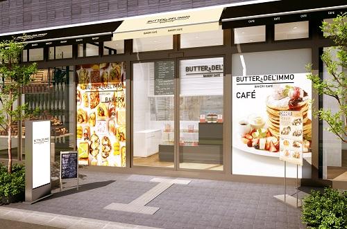 画像: 大阪・江坂 『BUTTER & DEL'IMMO BAKERY CAFÉ』リニューアルオープン!