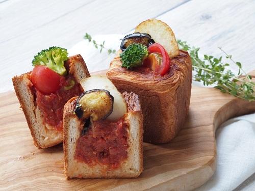 画像: 「ピクニックキューブカレー」 自家製のスペシャルカレーを詰め込んだキューブ型カレーパン。ピクニックやお友達の集まり、もちろんデイリーシーンにもぜひお試しください。