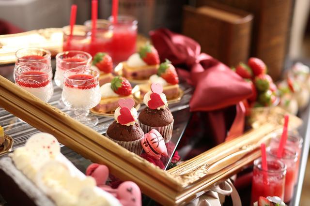 画像4: ■イタリアンレストラン「リストランテ マンジャーレ」では『恋する苺 バレンタイン デザートブッフェ』