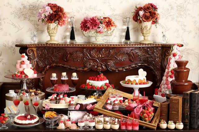 画像2: ■イタリアンレストラン「リストランテ マンジャーレ」では『恋する苺 バレンタイン デザートブッフェ』