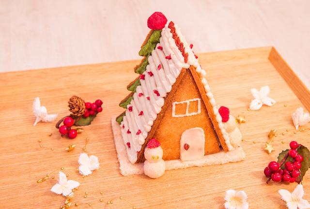 画像: グルテンフリークリスマスクッキーハウス ¥2,880