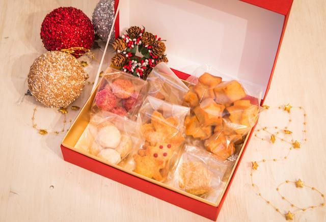 画像: クリスマスギフトbox ¥5,000 ギフト・パーティーにオススメのグルテンフリーの焼き菓子box。