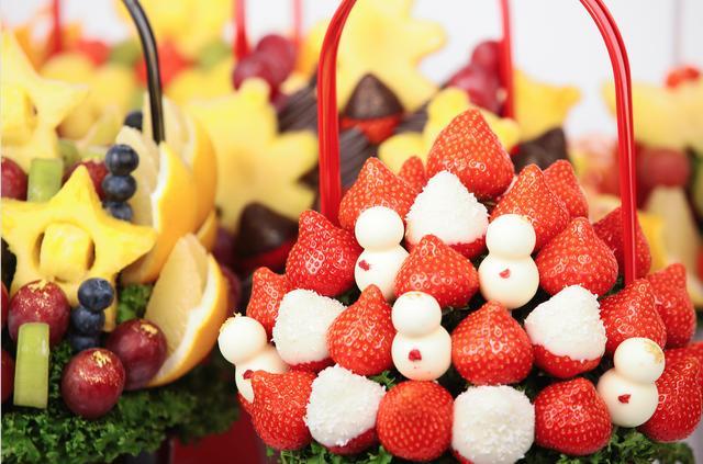 画像2: 食べられる花束『フルーツブーケ』クリスマスバージョン登場!