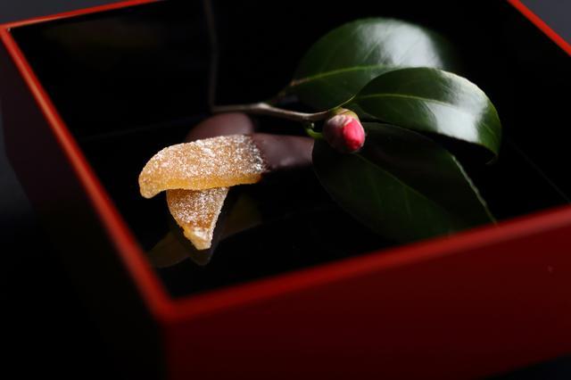 画像2: 柚子や黒豆に想いをのせたチョコ包みのラブレターはいかが?