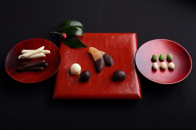画像1: 柚子や黒豆に想いをのせたチョコ包みのラブレターはいかが?