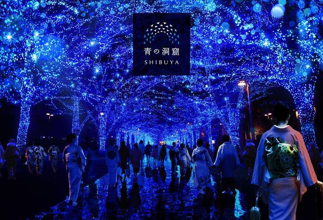 画像: 『青の洞窟 SHIBUYA』年越しカウントダウン実施決定!