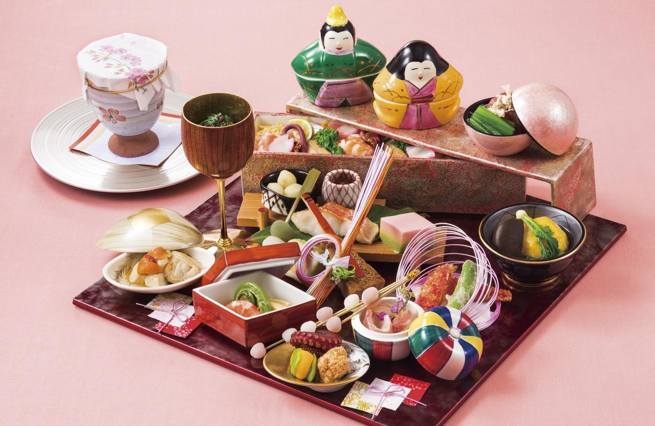 画像: ひなまつり御膳/日本料理「旬彩」