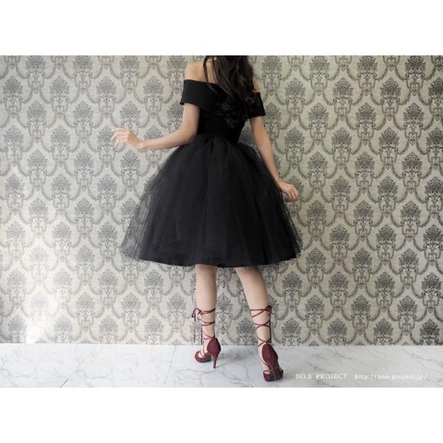 画像5: バレリーナチュチュドレス 黒鳥(ブラック)【NO.S PROJECT】29,160円(税込み)