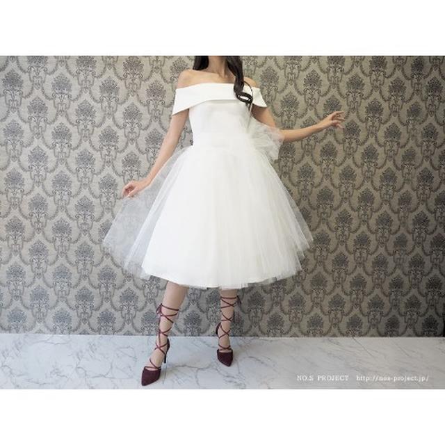 画像1: バレリーナチュチュドレス 白鳥(ホワイト)【NO.S PROJECT】29,160円(税込み)
