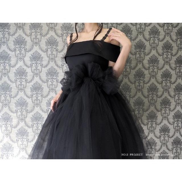 画像4: バレリーナチュチュドレス 黒鳥(ブラック)【NO.S PROJECT】29,160円(税込み)