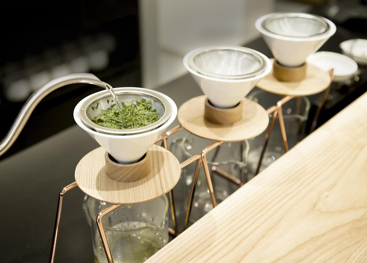 画像1: 日本茶のために開発されたドリッパーと職人の技術を凝縮した体験型店舗!